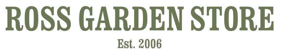 Ross Garden Store Logo Green